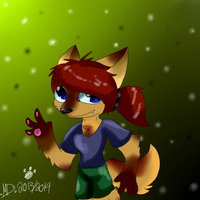 Myself as an epic mickey chara by dreamer-the-wolf-3