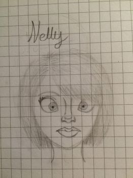 Nelly (new OC) by sarah718b