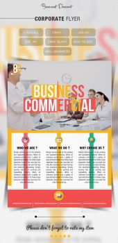 Corporate Business Flyer by Hz-designer