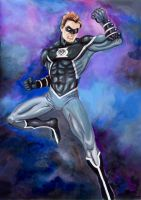 Black Lantern Watercolour by deemonHunter360