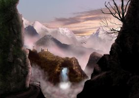 Matte Painting Practice by blindman987