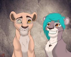 Vipofu and Izzy by MarryGorgeous
