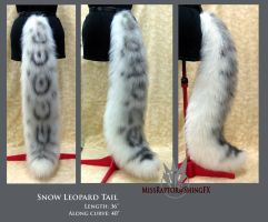 Snow Leopard tail by MissRaptor