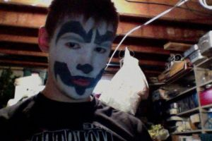 Shaggy 2 dope face paint by monkeythe13th
