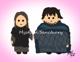 Sam and Gilly Game of Thrones by ChiiLissa