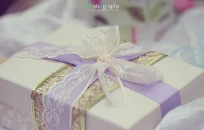 Lacey Ribbon Gift Box by whocaresme