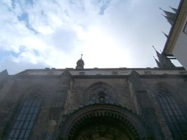 Prague House of God (St. Vitus Cathedral). by Wingweaver666