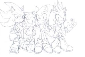 Group pic- Hedgehogs by ihearrrtme