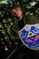 Watch out Link!  Bad guy over there! by Starkiller-Cosplay