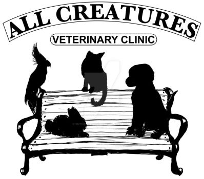 All Creatures Veterinary Clinic Silhouette Version by SutherlandsInk