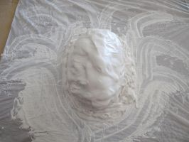 Silent Hill Nurse - WIP-Making the Latex Mask by Cosplay4UsAll