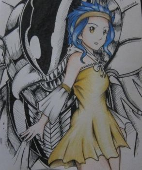 Metalicana and Levy by DeadFenrir