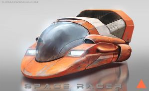 Space Racer by thomaswievegg