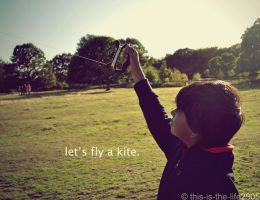 let's fly a kite. by this-is-the-life2905