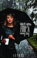 Save You For A Rainy Day - Wattpad Cover (PREMADE) by OutOfStyle13