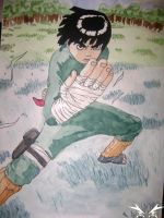 Rock Lee Pose by Vukasa