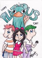 Happy Platypus Day! by OsoDeClare
