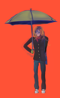 GH - noah and the umbrella by the-star-samurai