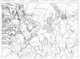 Batman WA pencils by DRPR
