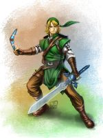 Art Jam: Goatee Adult Link by omegaseraphx