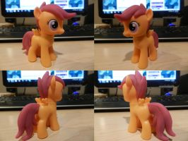 Scootaloo Molded Custom by Rion-Noire
