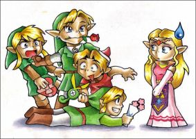 Valentine's Day in Hyrule by ChocolatePixel