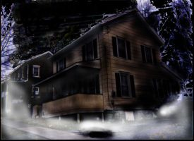 my house at night by BryanTheVampire