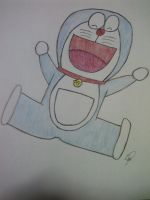 Doraemon (Request) by TheNightShades