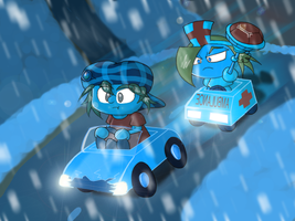 Art Trade: The Tormentor: Kart Driving by KD476