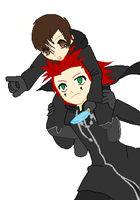 Me and Axel :3 by xXCrona-CakesXx