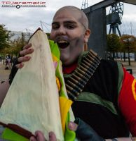25 Oct MCM LON Team Fortress 2 RED Heavy by TPJerematic