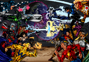 MARVEL vs DC by ParadoxalOrder