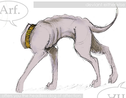 The headless dog of affection. by eitherwise