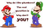 Why do I like plumbers? by faster-by-choice