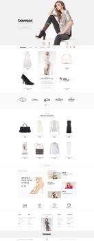Bewear - Lookbook Style eCommerce PSD Template by bcubepl