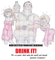 Distilled Vanolose drinks : DRINK IT! by Shabazik