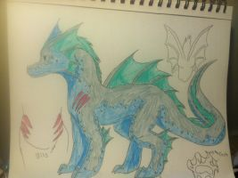 Water dragon :open: by Dooma-wolfsvain