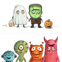 Halloween Invites by Nyrak