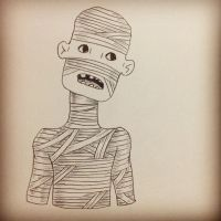 The Mummy by lilspoon