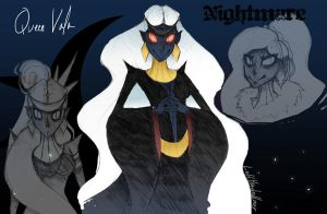 Night and Day Nightmare Leader: Vala by LeftHandedLoser