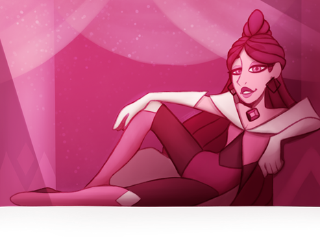 The Magnificent Majesty Magenta Diamond by TheZodiacLord