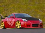 Blazing Red 350Z by Ditto-kun