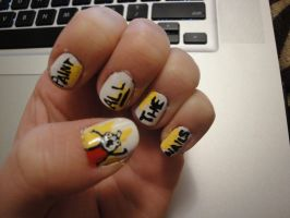 Paint All The Nails by racing-kites