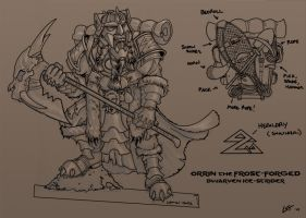 Orrin dwarf mini concept by The-Banderlog