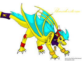 Thunderstorm X3 by NewMoon-Dragoness