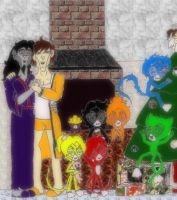 Card: Family COLORED by KoDraCan