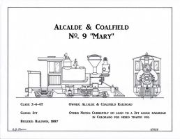 Alcalde and Coalfield No. 9 by gunslinger87