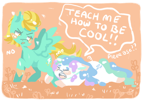 TEACH ME HOW TO BE COOL! by swampyfish