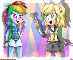 -Let's Make a Song!- by AlbitaDashie