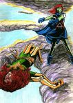Miss Martian VS Phoenix by Broken-Endings